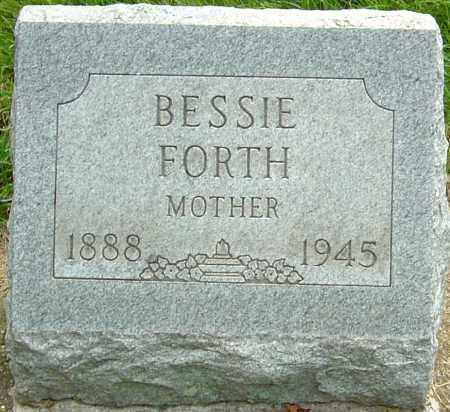 FORTH, BESSIE MADGE - Montgomery County, Ohio   BESSIE MADGE FORTH - Ohio Gravestone Photos