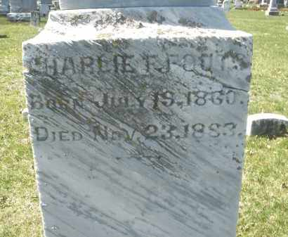 FOUTS, CHARLIE F. - Montgomery County, Ohio | CHARLIE F. FOUTS - Ohio Gravestone Photos