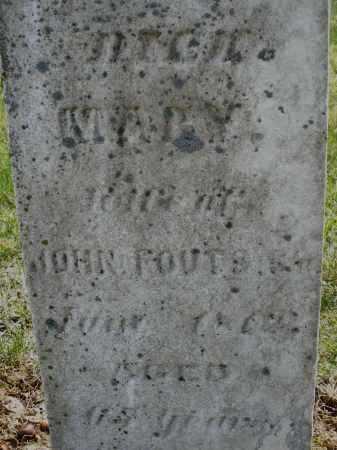 FOUTS, MARY - Montgomery County, Ohio | MARY FOUTS - Ohio Gravestone Photos