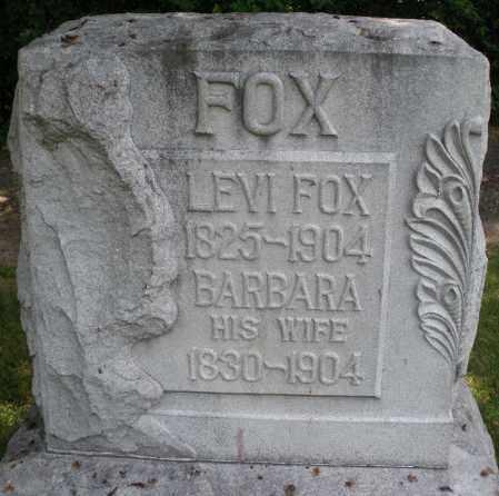 FOX, LEVI - Montgomery County, Ohio | LEVI FOX - Ohio Gravestone Photos