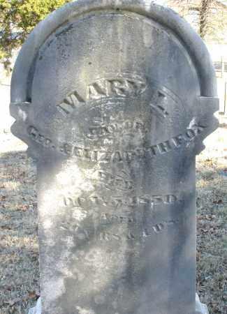 FOX, MARY L. - Montgomery County, Ohio | MARY L. FOX - Ohio Gravestone Photos