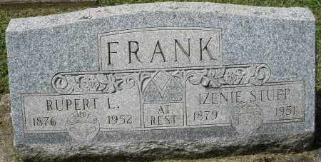 STUPP FRANK, IZENIE - Montgomery County, Ohio | IZENIE STUPP FRANK - Ohio Gravestone Photos