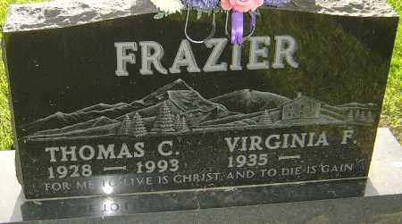 FRAZIER, THOMAS C - Montgomery County, Ohio   THOMAS C FRAZIER - Ohio Gravestone Photos