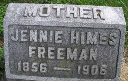 FREEMAN, JENNIE - Montgomery County, Ohio | JENNIE FREEMAN - Ohio Gravestone Photos