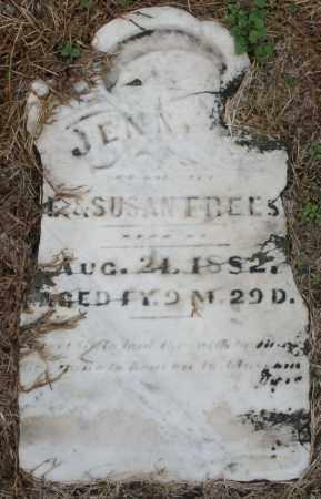 FREES, JENNY - Montgomery County, Ohio   JENNY FREES - Ohio Gravestone Photos