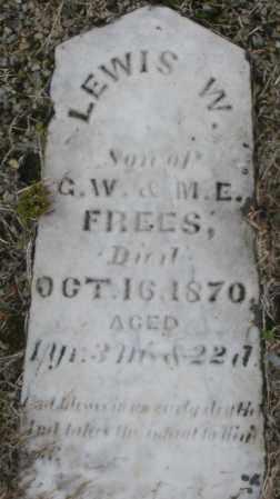 FREES, LEWIS W. - Montgomery County, Ohio | LEWIS W. FREES - Ohio Gravestone Photos