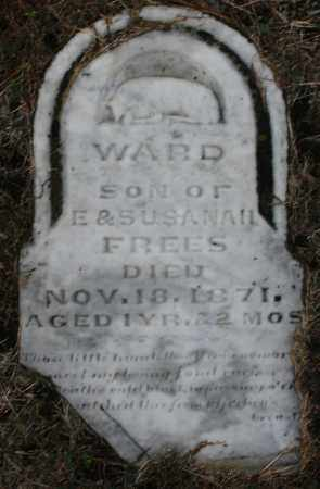 FREES, WARD - Montgomery County, Ohio | WARD FREES - Ohio Gravestone Photos
