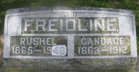 FREIDLINE, CANDACE - Montgomery County, Ohio   CANDACE FREIDLINE - Ohio Gravestone Photos