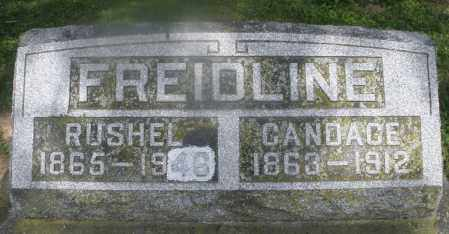 FREIDLINE, RUSHEL - Montgomery County, Ohio   RUSHEL FREIDLINE - Ohio Gravestone Photos