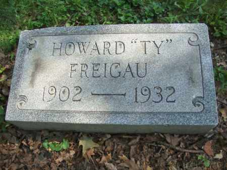 FREIGAU, HOWARD - Montgomery County, Ohio | HOWARD FREIGAU - Ohio Gravestone Photos