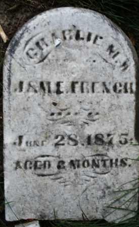 FRENCH, CHARLIE - Montgomery County, Ohio   CHARLIE FRENCH - Ohio Gravestone Photos