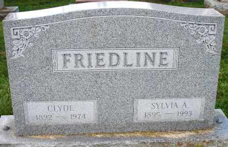 FRIEDLINE, CLYDE - Montgomery County, Ohio | CLYDE FRIEDLINE - Ohio Gravestone Photos