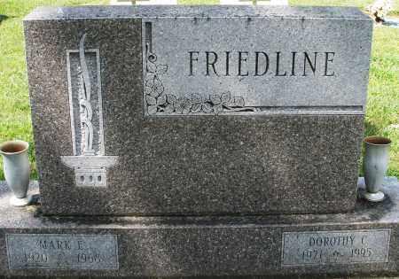 FRIEDLINE, MARK E. - Montgomery County, Ohio | MARK E. FRIEDLINE - Ohio Gravestone Photos