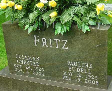 FRITZ, PAULINE EUDELL - Montgomery County, Ohio | PAULINE EUDELL FRITZ - Ohio Gravestone Photos