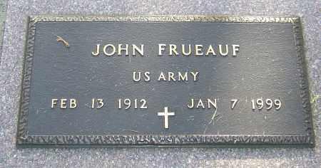 FRUEAUF, JOHN - Montgomery County, Ohio | JOHN FRUEAUF - Ohio Gravestone Photos