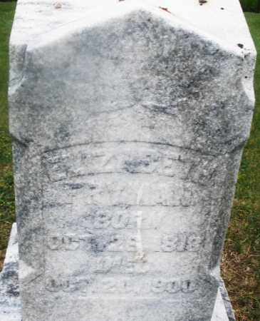 FRYMAN, ELIZABETH - Montgomery County, Ohio | ELIZABETH FRYMAN - Ohio Gravestone Photos
