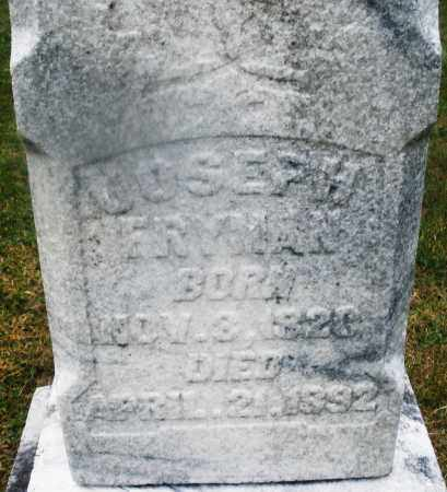 FRYMAN, JOSEPH - Montgomery County, Ohio | JOSEPH FRYMAN - Ohio Gravestone Photos