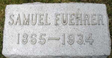 FUEHRER, SAMUEL - Montgomery County, Ohio | SAMUEL FUEHRER - Ohio Gravestone Photos