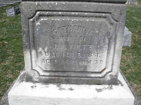 FULTZ, CATHARINE - Montgomery County, Ohio   CATHARINE FULTZ - Ohio Gravestone Photos