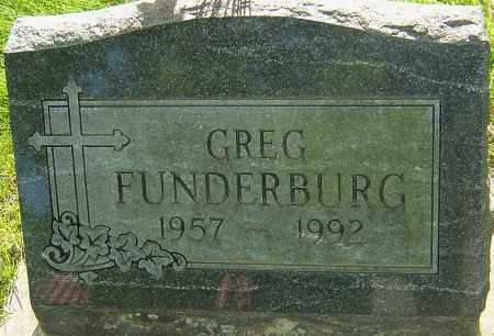 FUNDERBURG, GREG - Montgomery County, Ohio | GREG FUNDERBURG - Ohio Gravestone Photos