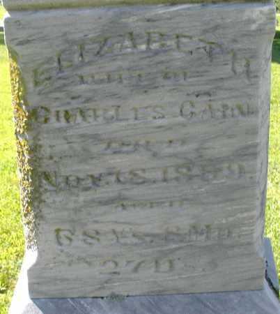 GAIN, ELIZABETH - Montgomery County, Ohio | ELIZABETH GAIN - Ohio Gravestone Photos