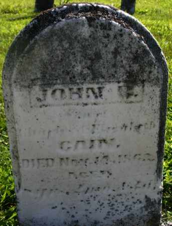 GAIN, JOHN B. - Montgomery County, Ohio | JOHN B. GAIN - Ohio Gravestone Photos