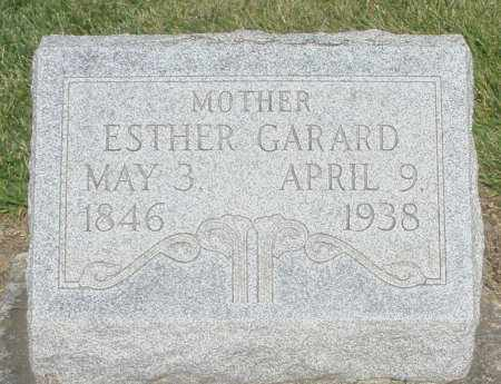 GARARD, ESTHER - Montgomery County, Ohio | ESTHER GARARD - Ohio Gravestone Photos