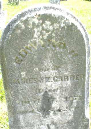 GARBER, EDWARD H. - Montgomery County, Ohio   EDWARD H. GARBER - Ohio Gravestone Photos