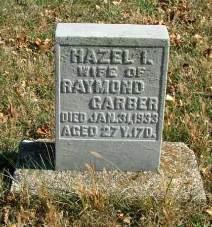 GARBER, HAZEL - Montgomery County, Ohio   HAZEL GARBER - Ohio Gravestone Photos