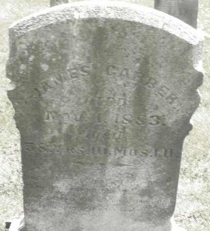 GARBER, JAMES - Montgomery County, Ohio | JAMES GARBER - Ohio Gravestone Photos