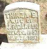 GARBER, THIRZA - Montgomery County, Ohio | THIRZA GARBER - Ohio Gravestone Photos