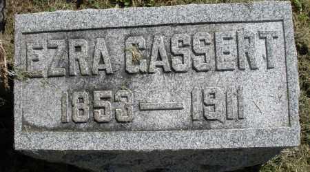 GASSERT, EZRA - Montgomery County, Ohio   EZRA GASSERT - Ohio Gravestone Photos