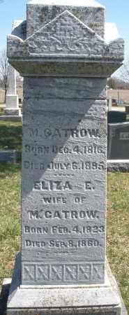 GATROW, M. - Montgomery County, Ohio | M. GATROW - Ohio Gravestone Photos