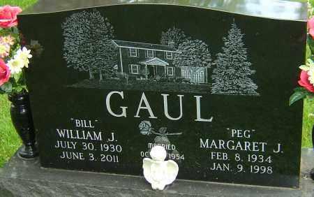 GAUL, MARGARET J - Montgomery County, Ohio | MARGARET J GAUL - Ohio Gravestone Photos