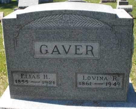 GAVER, LOVINA R. - Montgomery County, Ohio   LOVINA R. GAVER - Ohio Gravestone Photos
