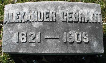 GEBHART, ALEXANDER - Montgomery County, Ohio   ALEXANDER GEBHART - Ohio Gravestone Photos
