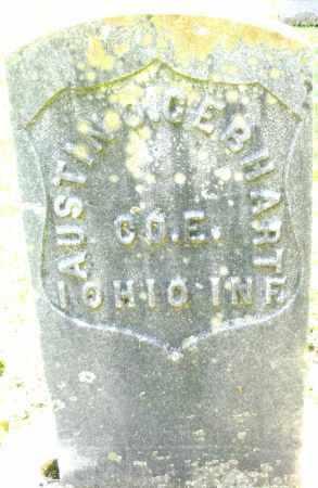 GEBHART, AUSTIN - Montgomery County, Ohio   AUSTIN GEBHART - Ohio Gravestone Photos