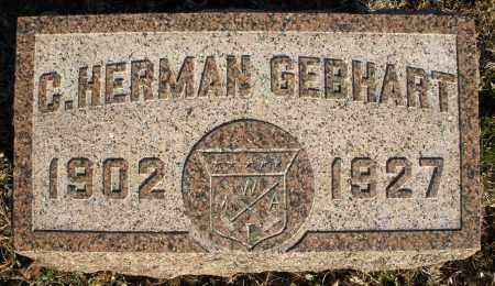 GEBHART, C. HERMAN - Montgomery County, Ohio | C. HERMAN GEBHART - Ohio Gravestone Photos