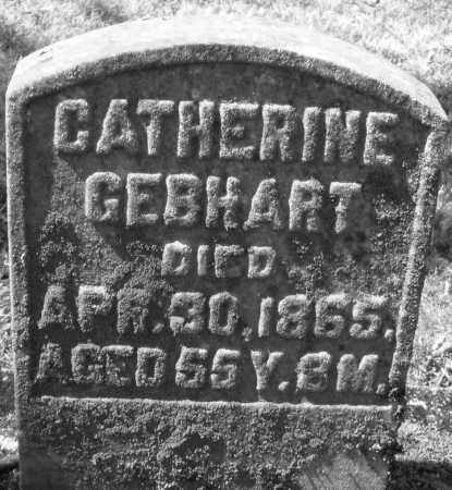 GEBHART, CATHERINE - Montgomery County, Ohio | CATHERINE GEBHART - Ohio Gravestone Photos