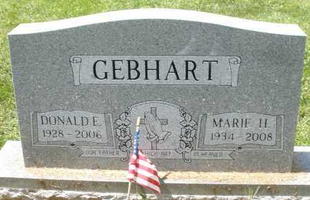 GEBHART, MARIE H. - Montgomery County, Ohio | MARIE H. GEBHART - Ohio Gravestone Photos