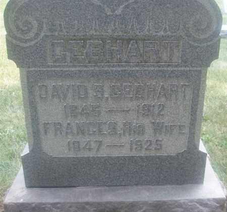GEBHART, FRANCES - Montgomery County, Ohio | FRANCES GEBHART - Ohio Gravestone Photos