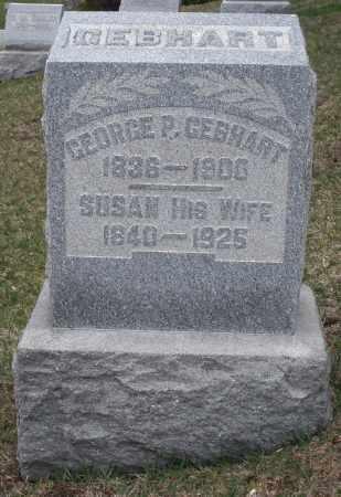 GEBHART, GEORGE P. - Montgomery County, Ohio | GEORGE P. GEBHART - Ohio Gravestone Photos