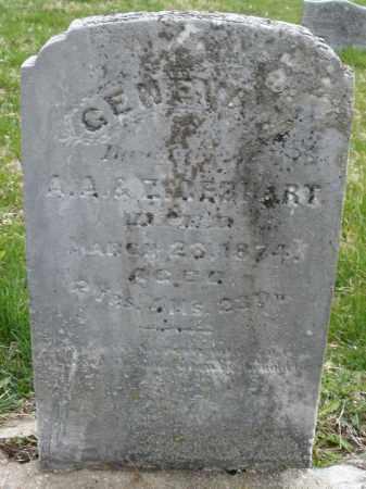 GEBHART, GENEVA - Montgomery County, Ohio   GENEVA GEBHART - Ohio Gravestone Photos