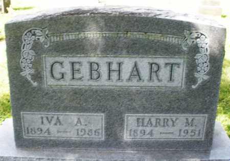 GEBHART, HARRY M. - Montgomery County, Ohio | HARRY M. GEBHART - Ohio Gravestone Photos