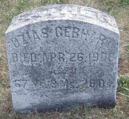 GEBHART, OZIAS - Montgomery County, Ohio   OZIAS GEBHART - Ohio Gravestone Photos