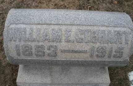 GEBHART, WILLIAM E. - Montgomery County, Ohio | WILLIAM E. GEBHART - Ohio Gravestone Photos