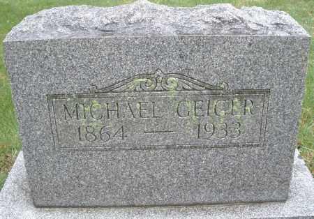 GEIGER, MICHAEL - Montgomery County, Ohio | MICHAEL GEIGER - Ohio Gravestone Photos