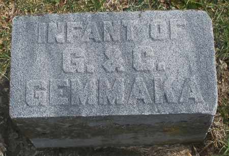 GEMMAKA, INFANT - Montgomery County, Ohio | INFANT GEMMAKA - Ohio Gravestone Photos