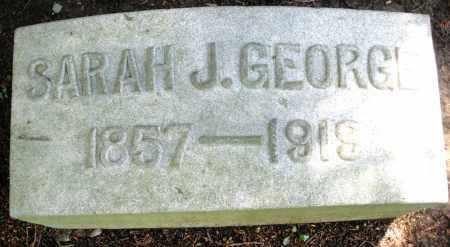 GEORGE, SARAH J. - Montgomery County, Ohio | SARAH J. GEORGE - Ohio Gravestone Photos