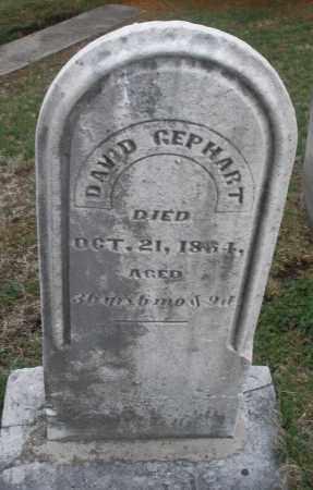 GEPHART, DAVID - Montgomery County, Ohio | DAVID GEPHART - Ohio Gravestone Photos